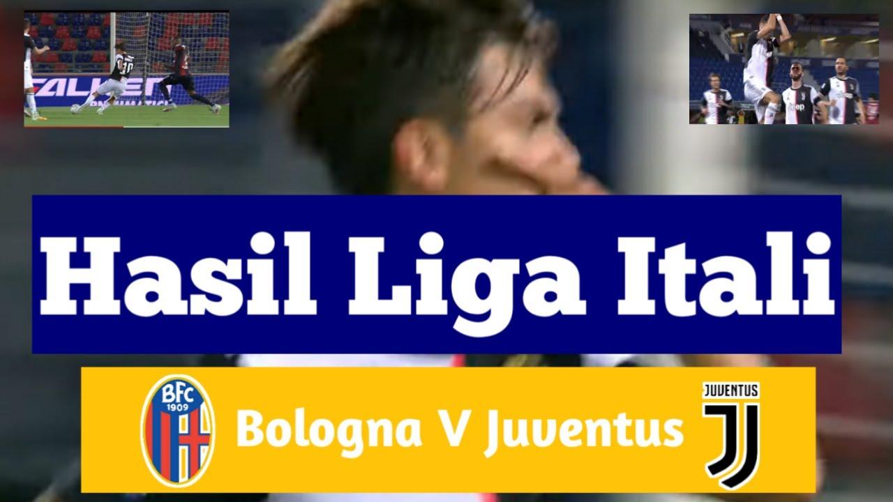 Hasil Liga Italia Tadi Malam Terbaru | Bologna V Juventus ...