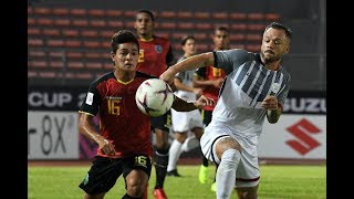Timor Leste 2-3 Philippines (AFF Suzuki Cup 2018 : Group Stage)