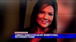 Authorities finish searching landfill for Kelsey Berreth; no remains found