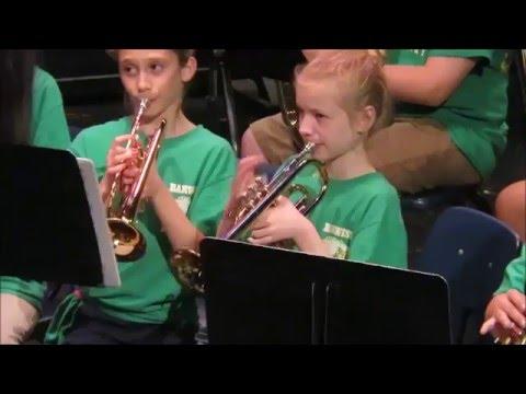 Barwise Leadership Academy Beginner Band Spring Concert