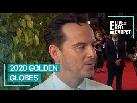 Andrew Scott Attends His First Ever Golden Globes | E! Red Carpet & Award Shows