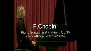 Antonio Consales plays Chopin: Sonata No.2 Op.35 - I mov. live U.S.Tour