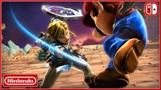 SUPER SMASH BROS : Ultimate - Nintendo Switch The Ultimate Showdown Cinematic Trailer (2018) HD