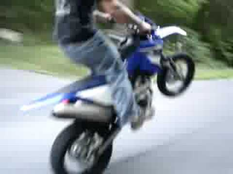 2008 yamaha wr250x - YouTube
