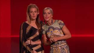 Julianne Hough and Ellie Goulding Present Rap/Hip Hop Artist - AMA 2015