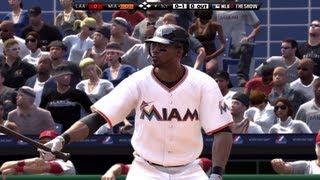 MLB 12 The Show: Miami Marlins vs LA Angels