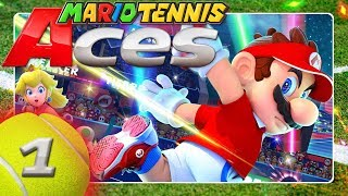 mario tennis aces gameplay ita