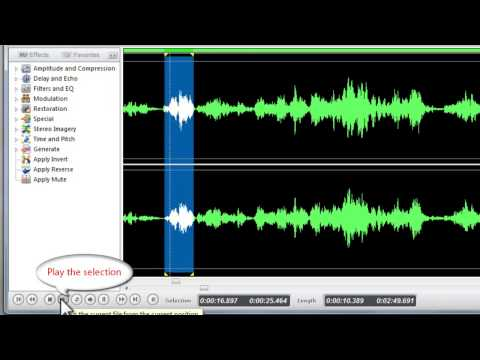 How to Apply Echo Effect to Audio with Free Audio Editor