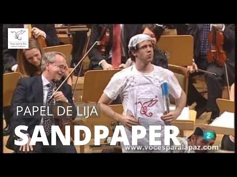 PAPEL DE LIJA (SANDPAPER). L. Anderson. Dir.: Andrés Salado. Percu.: Alfredo Anaya y Alberto Román.