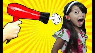 M&M'S PRESO NO OUVIDO! M&M'S STUCK IN EAR! حلاوة تعلقت في أذن شفا