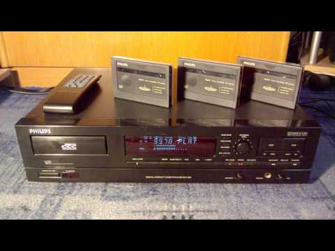 PHILIPS DCC600 - Digital Compact Cassette recorder