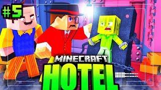 Das DUNKLE GEHEIMNIS vom HOTEL?! - Minecraft HOTEL #05 [Deutsch/HD]