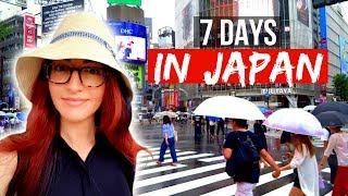 7 DAYS IN JAPAN TOKYO THRIFT SHOPS FUJI ROCK FESTIVAL 2017 Jess Bunty Vlog 7