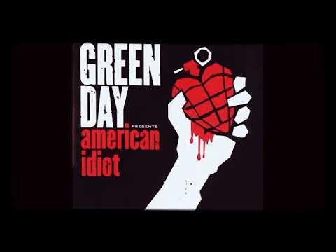 Green Day    -American Idiot-     (Full Album)