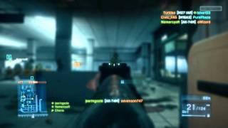 Battlefield 3 multiplayer gameplay Full Settings 720p