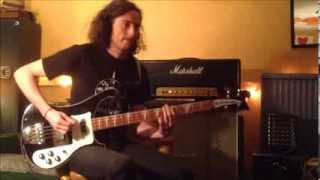 Deep Purple - Strange Kind of Woman - bass cover