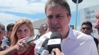Governador Camilo Santana fala da inauguração do Detran de Aracati e da audiência com Guida, Dr. Paulo e aliados