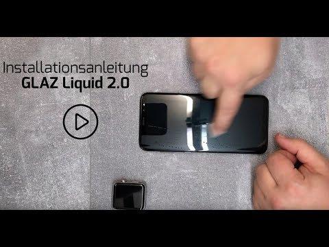 Installationsanleitung flüssiges Panzerglas Liquid 2.0