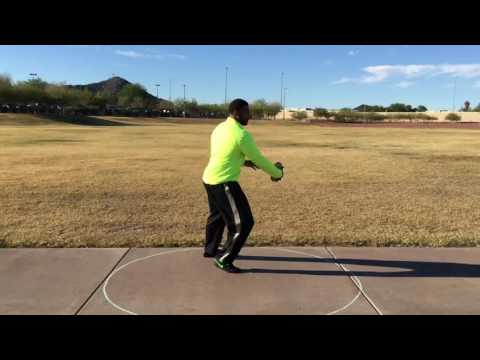 Discus Throw Training progression: Jason Harrell US Mens Discus thrower: Olympic Trials Finalist