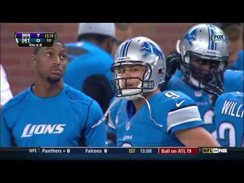 Minnesota Vikings at Detroit Lions 2012