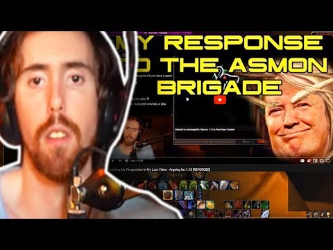 """Asmongold Reactions """"Clarifying My Perspective in My Last Video - Arguing for 1.13 [REFORGED]"""""""