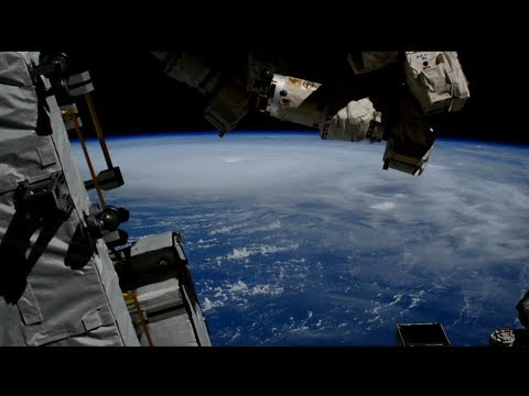 Hurricane Michael from Space on October 10