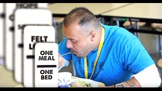 The Domino Effect:  How One Meal or Bed Can Change a Life at the Los Angeles Mission
