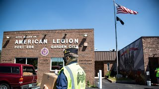 Michigan American Legion delivers meals to community