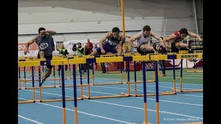 Ukrainian Indoor Championships 2019. Highlights of Day 2 (morning session)