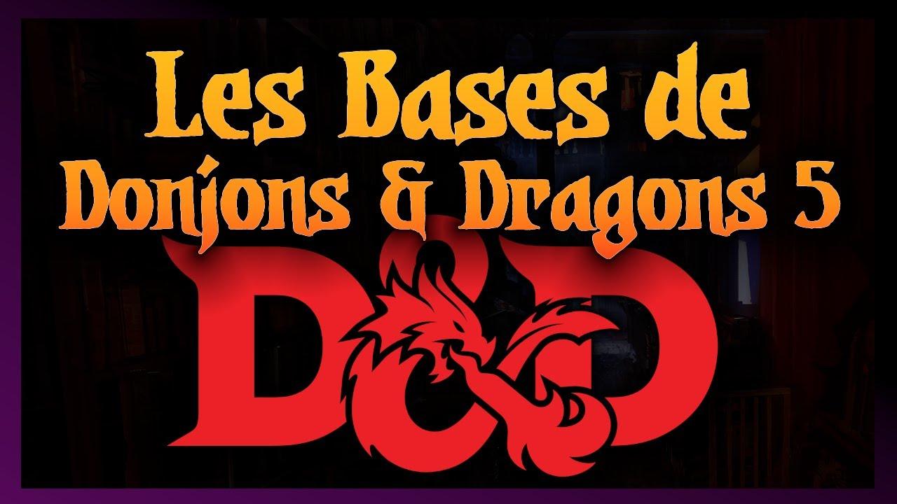 MDJ #01: Les bases de Donjon et Dragons (5e édition).