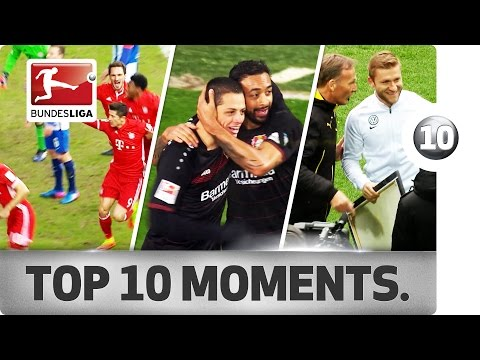 Top 10 Moments - February 2017 – High-Flying Gnabry & Lewandowski Drama