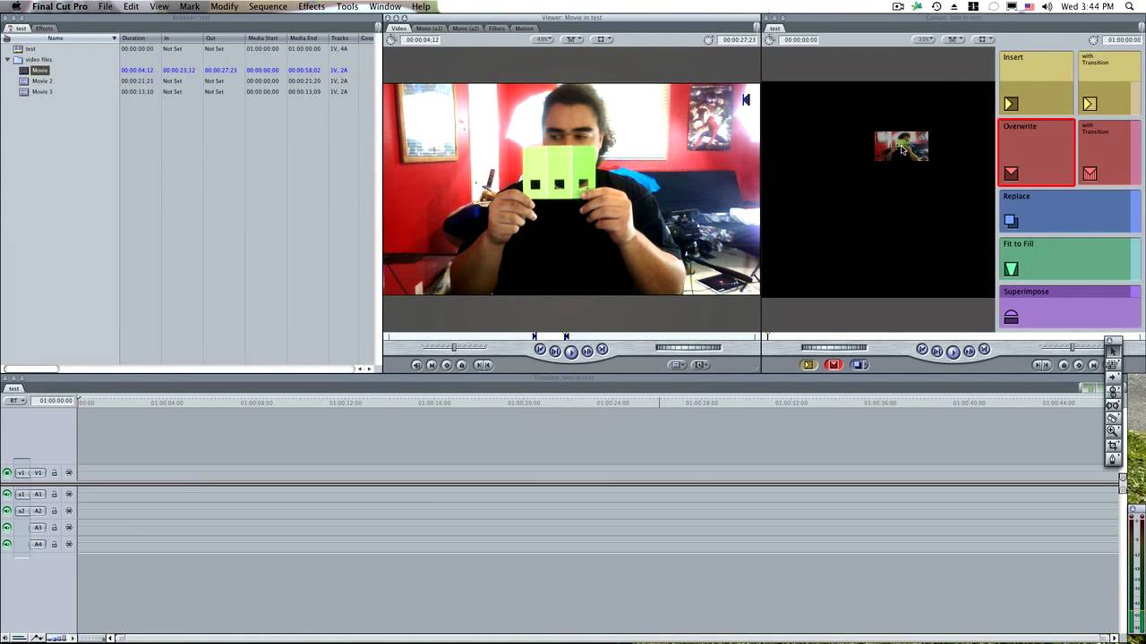 Final Cut Pro 7 For Beginners Youtube
