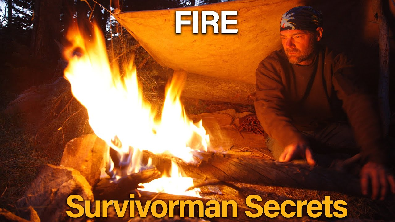Download Survivorman Secrets   Season 1   Episode 1   Fire   Les Stroud