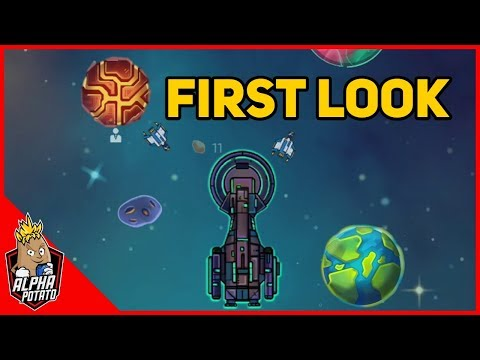 Idle Planet Miner Gameplay First Look