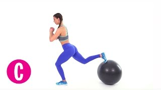 6 Exercise Ball Moves to Make Your Butt Round AF | Cosmopolitan