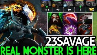 23SAVAGE [Phantom Assassin] The Real Monster is Here 36 Kills 7.22 Dota 2