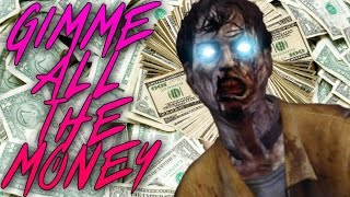 GIMME ALL THE MONEY $$$,NEVER FORGET THE BEST GLITCH!-CoD Black Ops 2 Zombies Buried