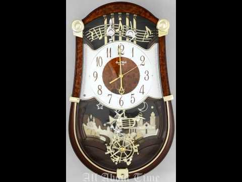 Rhythm Concerto Entertainer Musical Clock