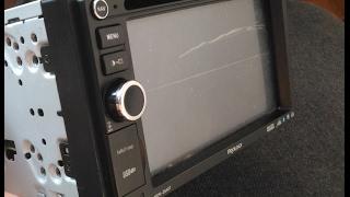 Распаковка, установка сенсорного экрана hsd062idw1. Автомагнитола PROLOGY MDN-2640T.