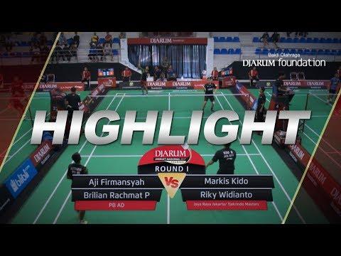 Aji Firmansyah/Brilian R (PB AD) VS Markis Kido/Riky Widianto (Jaya Raya Jakarta/Tjakrindo Master) thumbnail