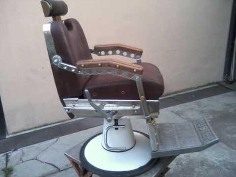 Poltrona da barbiere custom youtube