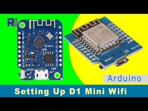 Start Using Wemos D1 Mini NodeMCU WiFi ESP8266 Module With Arduino