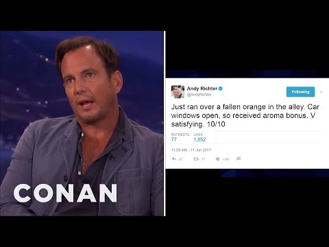 Will Arnett Critiques Andy Richter's Tweets   CONAN on TBS