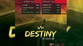 Destiny Riddim Mix ▶FEB 2018▶ I-Octane,Popcaan,Alaine & More (YoungPow Production)