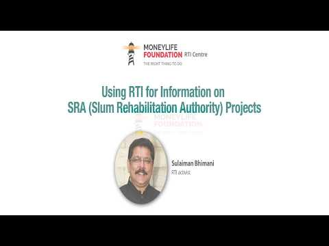 "Sulaiman Bhimani's Q&A Session on ""Using RTI for Information on SRA Projects"""