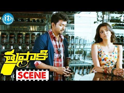 Tupaki Movie  - Kajal Agarwal, Vijay Nice Comedy Scene