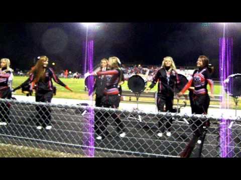 West Carrollton percussion/cheer dance