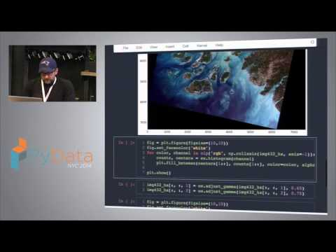 Milos Milijkovic - Analyzing Satellite Images with Python Scientific Stack
