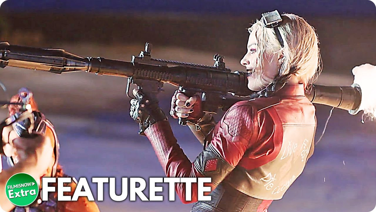 THE SUICIDE SQUAD (2021) | In On The Action Featurette
