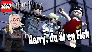 Du är en Fisk Harry! | LEGO Harry Potter år 1-4 | del 23